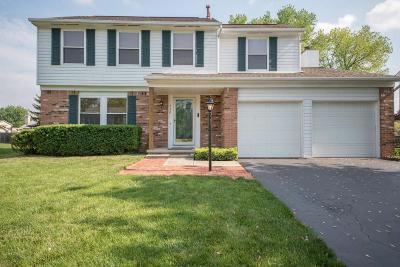 Pickerington Single Family Home Contingent Finance And Inspect: 430 Stonebridge Boulevard