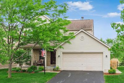 Westerville Single Family Home Contingent Finance And Inspect: 5515 Covington Meadows Drive