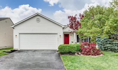 Hilliard Single Family Home Contingent Finance And Inspect: 6212 Freewood Drive