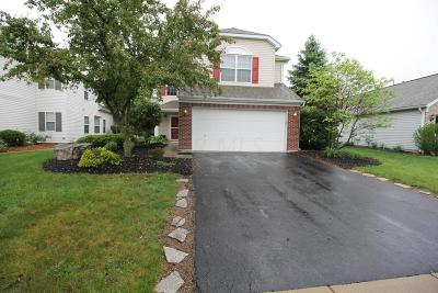 Hilliard Single Family Home Contingent Finance And Inspect: 5874 Crystal Pond Boulevard