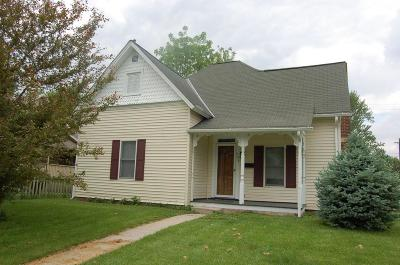 Washington Court House Single Family Home Contingent Finance And Inspect: 528 Gregg Street