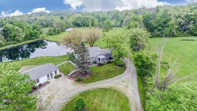 Utica Single Family Home For Sale: 605 Blacksnake Road