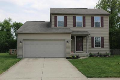 Blacklick Single Family Home Contingent Finance And Inspect: 8347 Crete Lane
