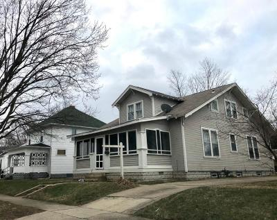 Chillicothe OH Single Family Home Contingent Finance And Inspect: $170,000