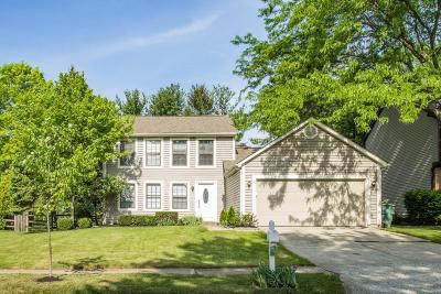 Dublin Single Family Home Contingent Finance And Inspect: 8603 Roscoe Place