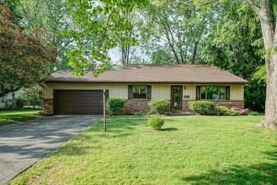 Westerville Single Family Home Contingent Finance And Inspect: 695 Rebecca Avenue