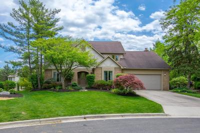 Dublin Single Family Home Contingent Finance And Inspect: 5657 Whitecraigs Court