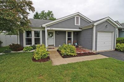 Hilliard Single Family Home Contingent Finance And Inspect: 5034 Shady Oak Drive