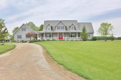 Delaware Single Family Home For Sale: 4141 Us Highway 42 N