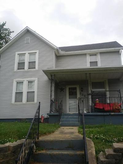 Circleville OH Single Family Home For Sale: $129,999