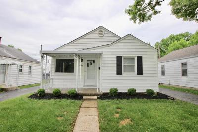 Clintonville Single Family Home Contingent Finance And Inspect: 588 E Jeffrey Place