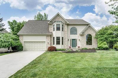 Gahanna Single Family Home For Sale: 266 Crossing Creek N