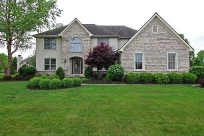 Westerville Single Family Home For Sale: 8300 Fallgold Lane