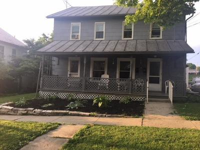 Mount Gilead OH Single Family Home For Sale: $76,000