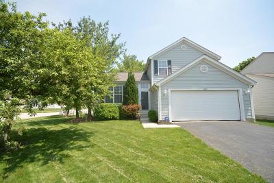 Canal Winchester Single Family Home Contingent Finance And Inspect: 5694 Danmar Drive