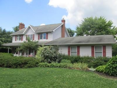 Howard Single Family Home For Sale: 12390 Grant Road