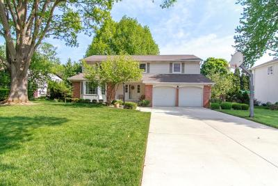 Upper Arlington Single Family Home Contingent Finance And Inspect: 1250 Carron Drive
