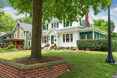 Clintonville Single Family Home Contingent Finance And Inspect: 168 E Dunedin Road