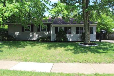 Reynoldsburg Single Family Home Contingent Finance And Inspect: 816 Sunview Road