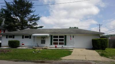 Sugar Grove Single Family Home Contingent Finance And Inspect: 107 E 4th Street