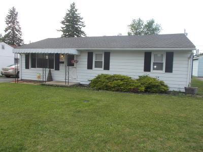 Washington Court House OH Single Family Home Contingent Finance And Inspect: $77,900