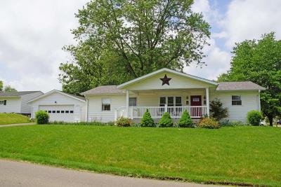 Mount Vernon OH Single Family Home For Sale: $129,500