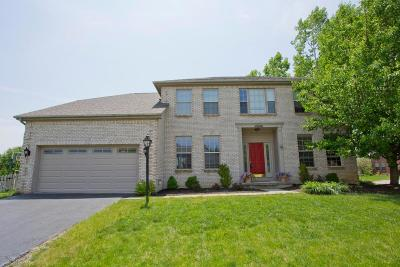 Westerville Single Family Home Sold: 7650 Danbridge Way