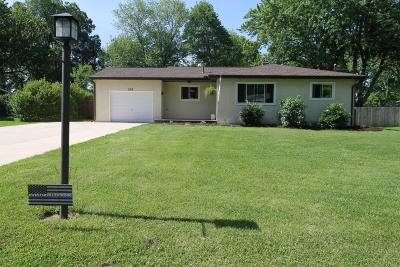Westerville OH Single Family Home For Sale: $186,800