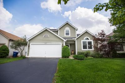 Hilliard Single Family Home For Sale: 5337 Whirlwind Cove Drive