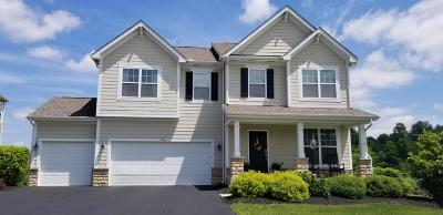 Pickerington Single Family Home Contingent Finance And Inspect: 184 Balsam Drive