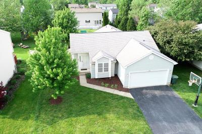 Hilliard Single Family Home Contingent Finance And Inspect: 4940 Cashion Drive
