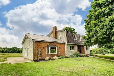 Thornville Single Family Home For Sale: 9996 Bruno Road