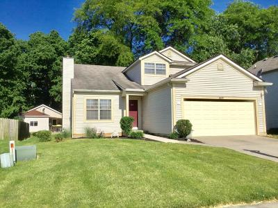 Groveport Single Family Home Contingent Finance And Inspect: 3899 Highland Bluff Drive