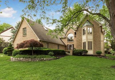 Westerville Single Family Home For Sale: 1254 Three Forks Drive N
