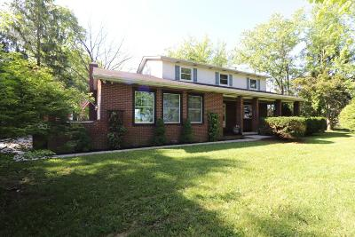 Hilliard Single Family Home Contingent Finance And Inspect: 7681 Patterson Road