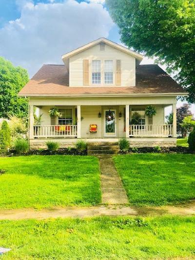 Thornville Single Family Home For Sale: 143 E Columbus Street