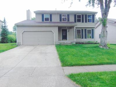Pickerington Single Family Home Contingent Finance And Inspect: 3282 Tumwater Valley Drive