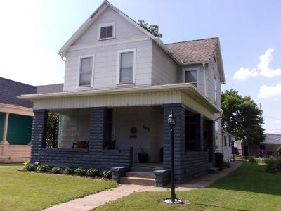Chillicothe OH Single Family Home For Sale: $129,900