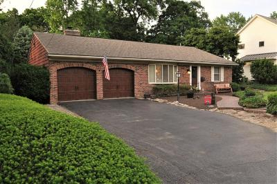 Upper Arlington Single Family Home Contingent Finance And Inspect: 2638 Eastcleft Drive