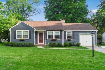 Worthington Single Family Home Contingent Finance And Inspect: 491 Kenbrook Drive