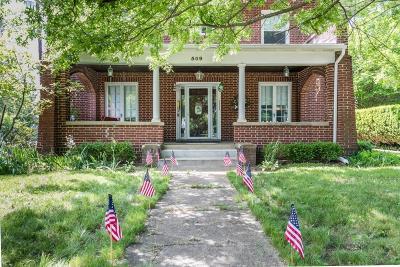Newark Single Family Home For Sale: 509 Mount Vernon Road