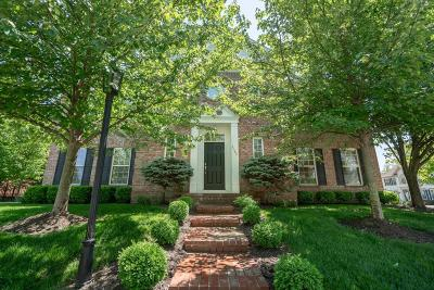 New Albany Single Family Home Contingent Finance And Inspect: 4102 Hammersmith Circle