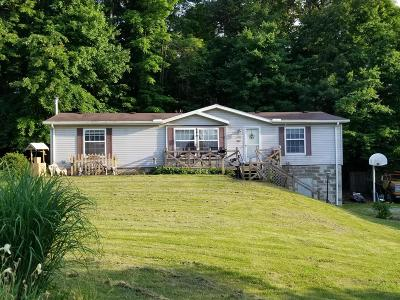 Sugar Grove Single Family Home Contingent Finance And Inspect: 22539 Bunker Hill Road