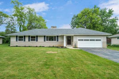 Upper Arlington Single Family Home Contingent Finance And Inspect: 2233 Lytham Road