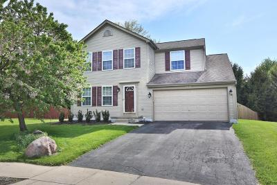 Canal Winchester Single Family Home Contingent Finance And Inspect: 5435 John Browning Court