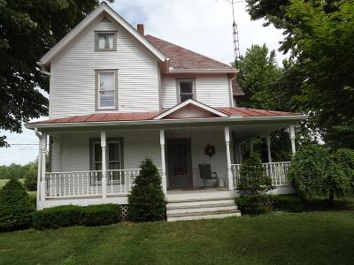 Fredericktown Single Family Home Contingent Finance And Inspect: 10217 Sparta Road