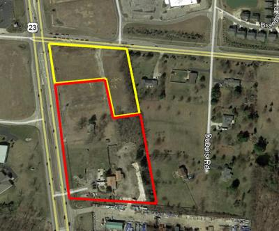 Lewis Center Residential Lots & Land For Sale: 6519-6605 Columbus Pike