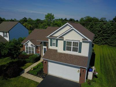 Reynoldsburg Single Family Home Contingent Finance And Inspect: 7819 Cheriton Circle