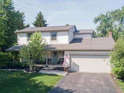 Worthington Single Family Home Contingent Finance And Inspect: 6899 Clydeway Court