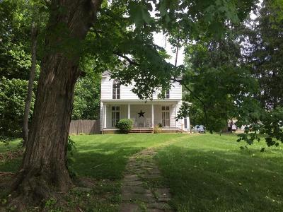 Mount Vernon Single Family Home Contingent Finance And Inspect: 105 W Pleasant Street